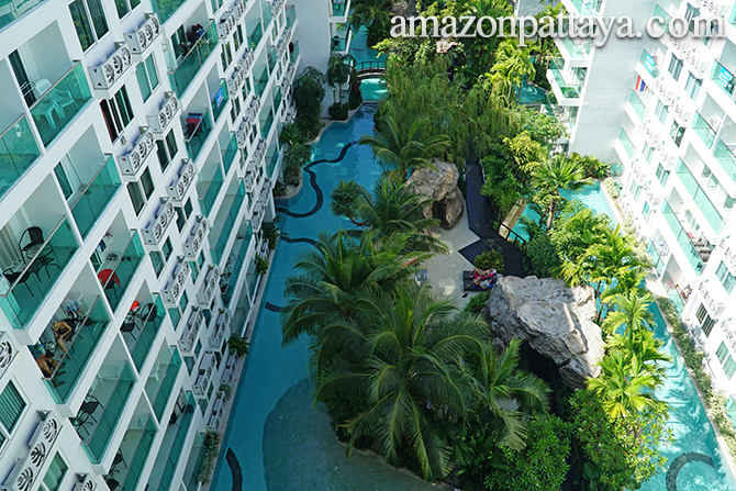 Amazon Residence Condominium in Pattaya Thailand